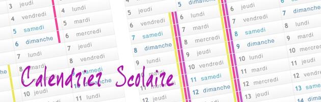 calendario escolar francés 2016-2017