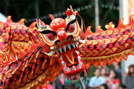 año Nuevo Chino - Baile del dragón