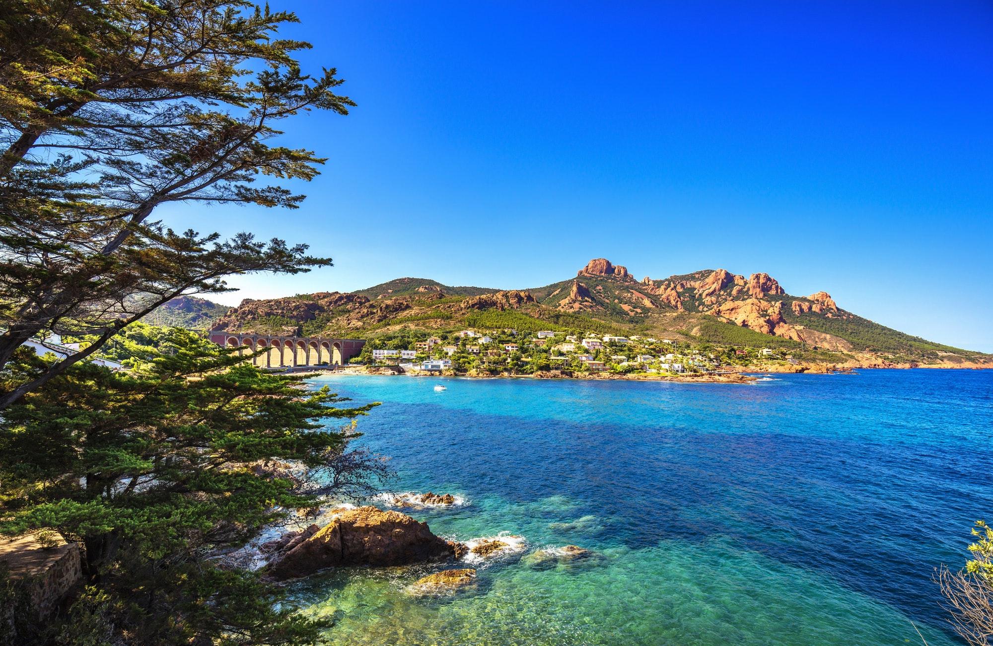 La costa azul en francia