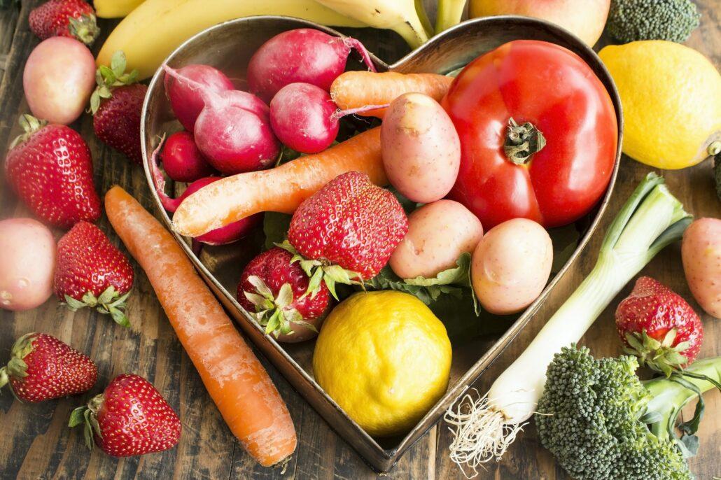 Alimentos frescos y de temporada